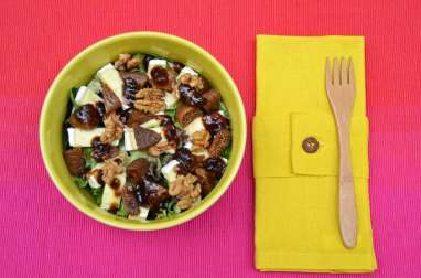 Salade Brie figues