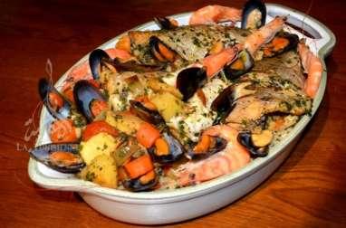Couscous italien aux poissons et fruits de mer