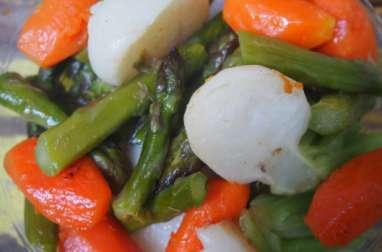 Poêlée de petits légumes