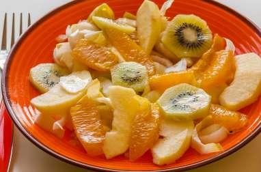 Salade d'endives aux fruits