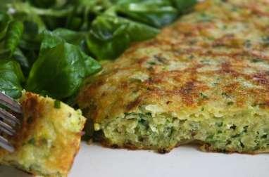 Omelette aux Chips et Herbes