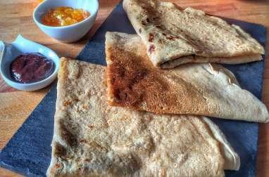 Crêpes vegan faciles et pâte à tartiner express