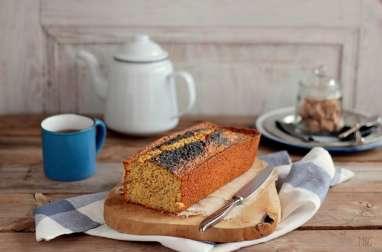 Flocons d'Avoine, Carotte et Citron tout ça dans un Cake