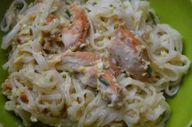 Pad Thaï express au poulet