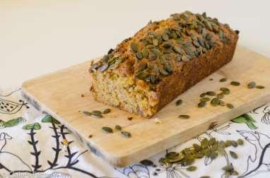 Butternut cake, noisettes et graines de courge