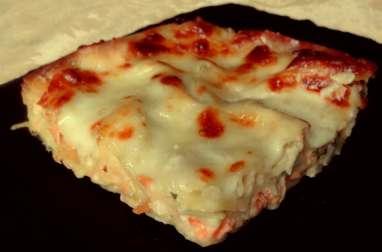Lasagnes au saumon et poireaux