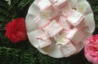 Guimauves à la Rose et Miel de Fleurs