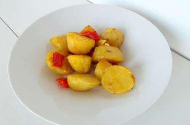 Pommes de terre épicées au Ras el Hanout et piments