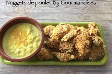Nuggets de poulet et sauce à l'ananas