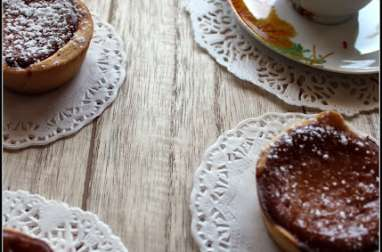 Mini honey pies comme Gabrielle