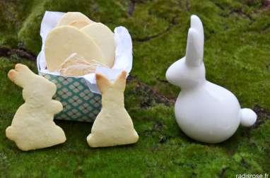 Sablés aux amandes pour Pâques