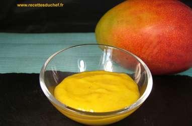 Ketchup de mangue
