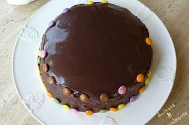 Rainbow Cake Chocolat
