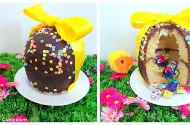 Cake surprise Oeuf de Pâques