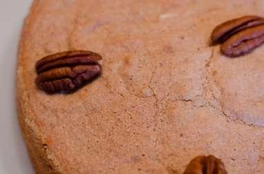 Gâteau moelleux aux noix de pécan fourré au Nutella