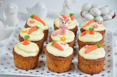 Carrot Cupcakes de Pâques ou Cupcakes à la carotte
