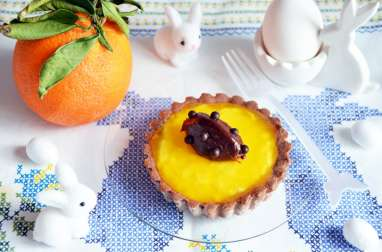 Tartelettes chocolat orange de Christophe Adam