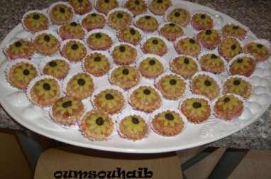 Gâteau fleur de tournesol