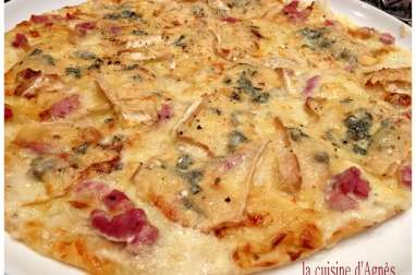 Pizza bressane