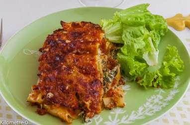 Lasagnes tomate ricotta fines herbes
