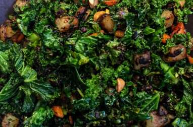 Petite poêlée de kale