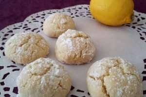 Biscuits moelleux citron