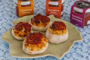Bouchées à la tomatine