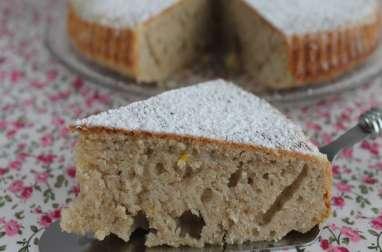 Gâteau moelleux à la banane et citron