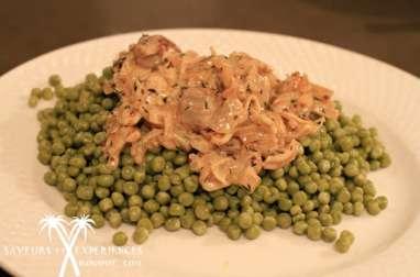 Filet Mignon de Porc aux oignons et Thym