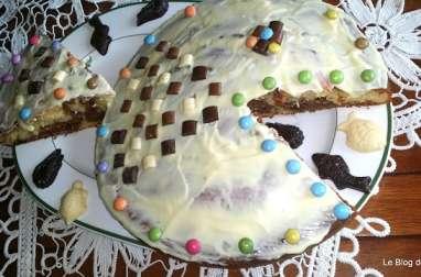Gâteau Poisson-zébré