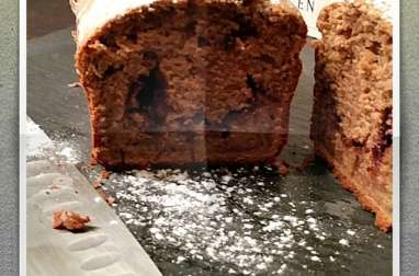 Gâteau Cake Nutella intérieur Chocolat Lait