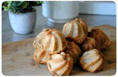Bouchées aux pommes à la purée d'amandes complète
