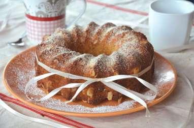 Gâteau moelleux amandes et miel
