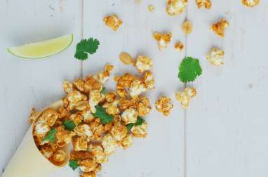 Pad thai pop corn