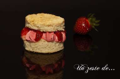 Shortcake à la fraise