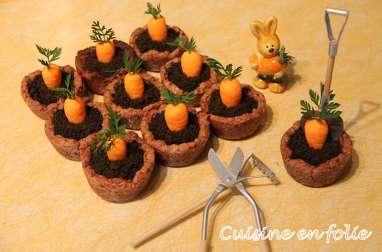 Carrot Cookies Pot
