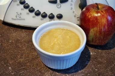 Compote pomme, nectarine, pêche au thermomix facile et rapide