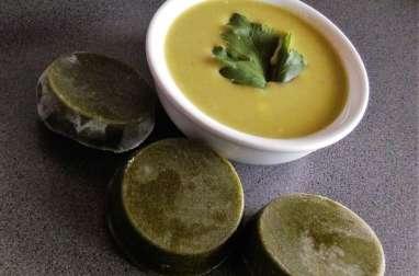 Soupe express feuilles de blettes