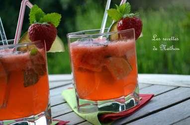 Mojito à la fraise