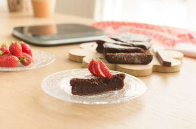 Gâteau au chocolat pour (grands) enfants