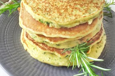 Pancakes de courgette