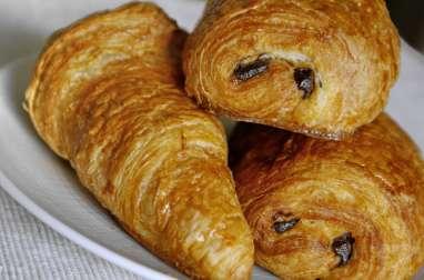 Croissants et pains au chocolat - Le tourage en portefeuille