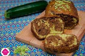 Marbré chocolat courgette et pistache