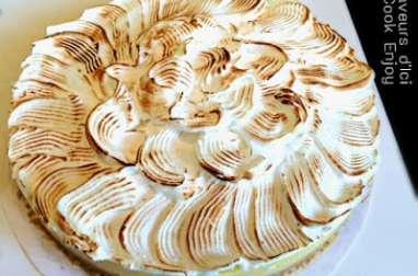 Tarte Citron Meringuée Revisitée au Chocolat Blanc