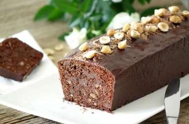 Cake chocolat et noisettes