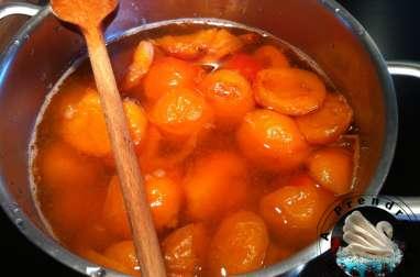 Compote d'abricots à la vanille