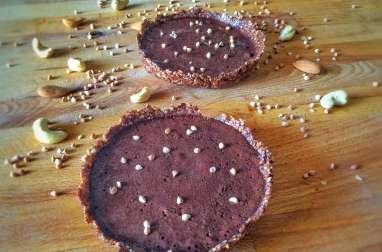 Tartelettes choco-café