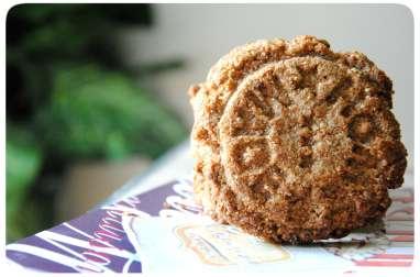 Biscuits au crumble d'avoine et d'amandes épicés