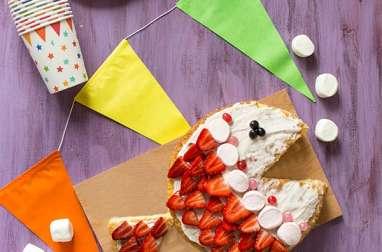 Gâteau poisson rigolo pour les enfants