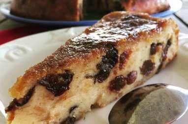 Le pudding de Martinique aux pruneaux et au rhum